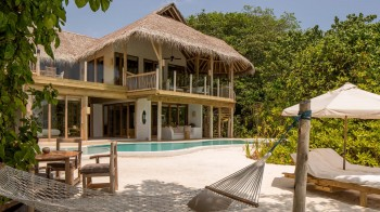 Soneva Fushi Villa Suite Three Bedroom with Pool
