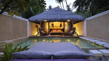 Island Villa with Pool