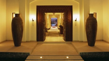Entrance of the Timeless Spa