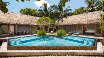 Two-Bedroom Beach Villa with Private Pool