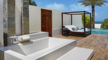 Tented Beach Pool Villa