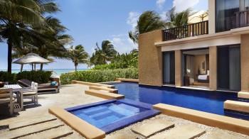 Ocean Front Three-Bedroom Pool Villa at the Haven